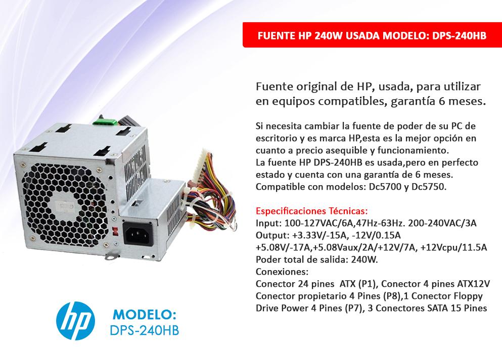 hp 240w-1